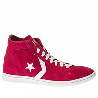 Converse Pro Leather Mid Suede 131107C Red Off White AI16
