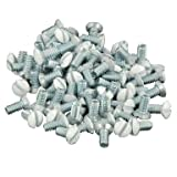 Leviton C22-88400-PRT 5/16'' White Wallplate Screws 10 Count