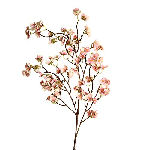 - SMALLE ◕‿◕ Cherry Blossom Artificial Flowers Simulation Flower Table Decoration Accessories Party Beach Theme Decorations
