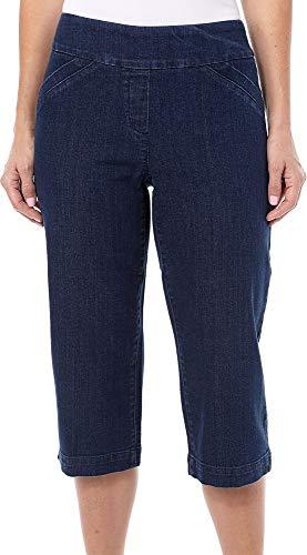 Alia Denim Jeans - Pull-On Capri