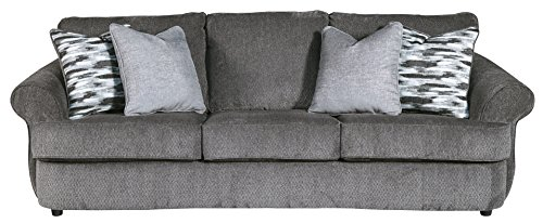 Benchcraft - Allouette Casual Upholstered Sofa - Ash