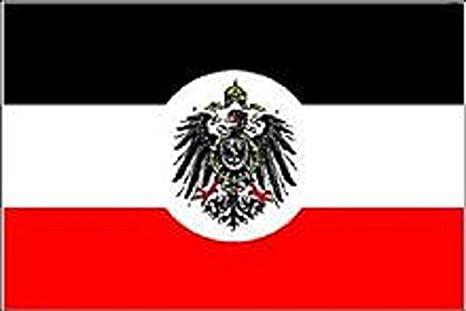 U24 Motorradflagge Deutsches Reich Kolonialamt Fahne Flagge 20 x 30 cm