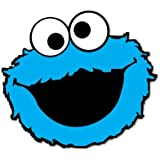 Amazoncom Sesame Street Cookie Monsters Blue Stickers Sesame