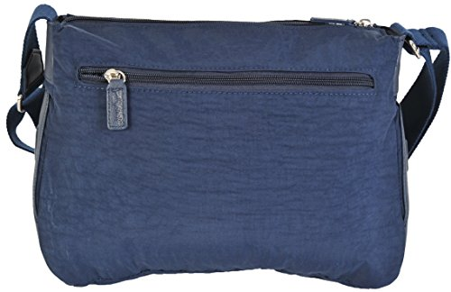 Exclusivo Azul 1651 Cruzado SPIRIT Mano Bolso Bandolera Ligero De Viaje Marino De zg8dvq