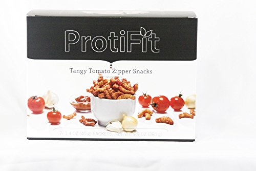 Proti Fit Tangy Tomato Zipper Snacks Ideal Protein Compatible