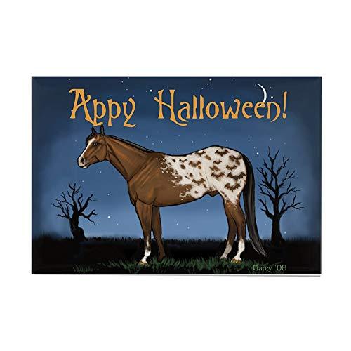 (CafePress Appy Halloween! Rectangle Magnet, 2