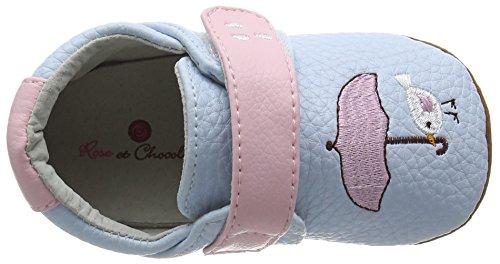 Rose & Chocolat Birdy Umbrella Baby Blue - Zapatillas para niños Azul