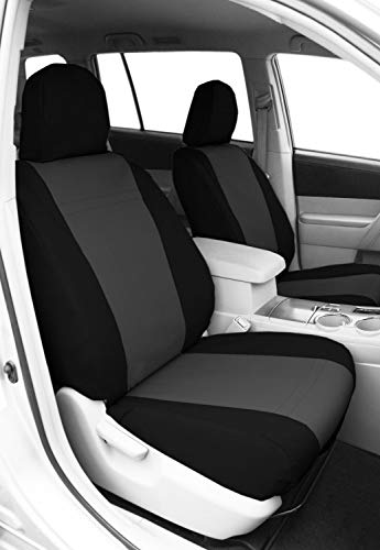 CalTrend FD475-03CC Cordura Charcoal Custom Seat Covers -