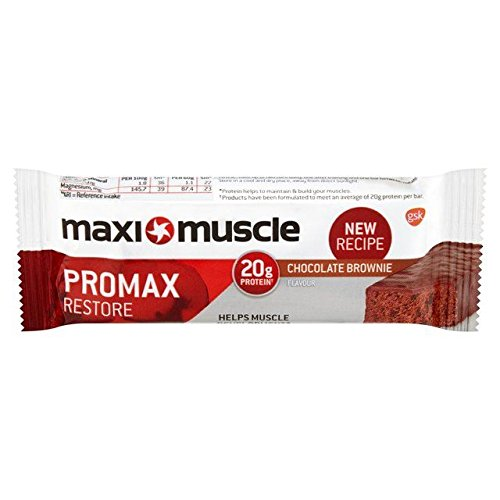 Maximuscle Promax Chocolate Brownie Protein Bar - 60g (0.13lbs)