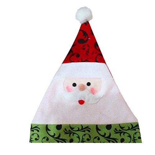[EFINNY Christmas Party Decor Hats Santa Claus Snowman Xmas Caps Happy New Year Gift 6pcs/Set] (Womens Homemade Snowman Costume)