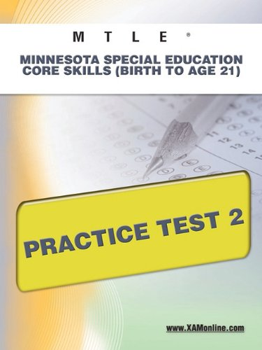 MTLE Minnesota Special Education Core Skills (Birth to Age 21) Practice Test 2