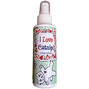 Pet MasterMind I Love Catnip Liquid Catnip Spray, All Natural, New, Extra Potent Formula, Made from Canadian Grown…