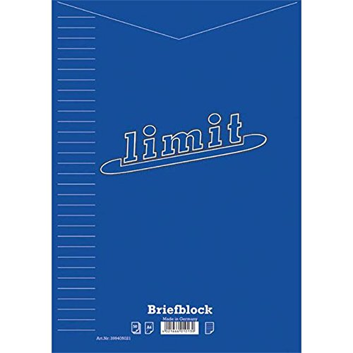 LANDR… Briefblock LIMIT DIN A4, 50 Blatt, liniert Landre