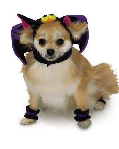 Rubie's Pet Bat Headpiece with Cuffs,