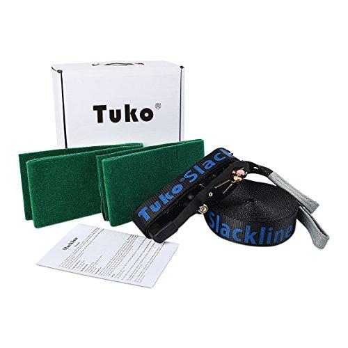 Tuko Slackline kits Climbing Rope Set (Slackline)