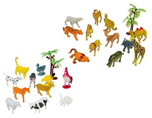 Happy People 43233 - Bauernhof und Wildtiere, Küchenspielzeug