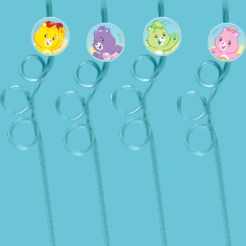 Amscan 154209 Care Bears Happy Days Silly Straws