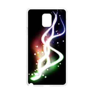 Samsung Galaxy Note 4 Cell Phone Case Covers White Abstract Free LVG 3D Unique Phone Case