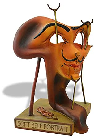 Amazon.com: Self-portrait with Fried Bacon Surrealism Statue by ...