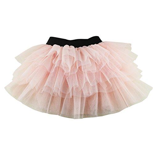 Wennikids Baby Girls Dance Tutu Skirt for Dress Up & Fairy Costumes XX-Large Korean (Fairy Costume Tutorial)