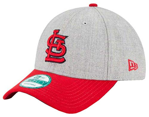 New Era MLB St. Louis Cardinals The League Heather 9Forty Adjustable Cap, One Size, Heather