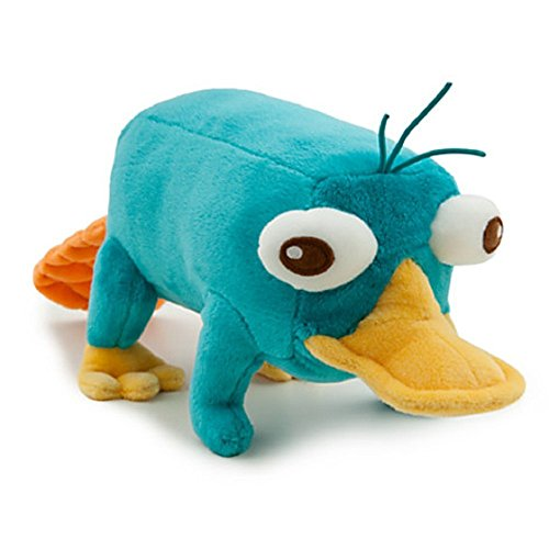 Perry the platypus amazon disney phineas and ferb 9 inch plush figure perry the palatypus voltagebd Images
