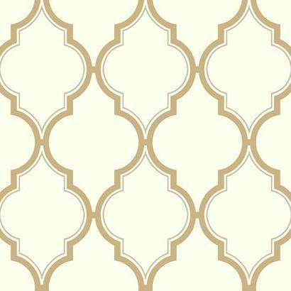 Kashmir Luxury Trellis Wallpaper Multi