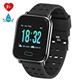 Fitness Tracker - Activity Tracker with Step Counter,Calorie and Heart Rate Monitors,Sleep Quality
