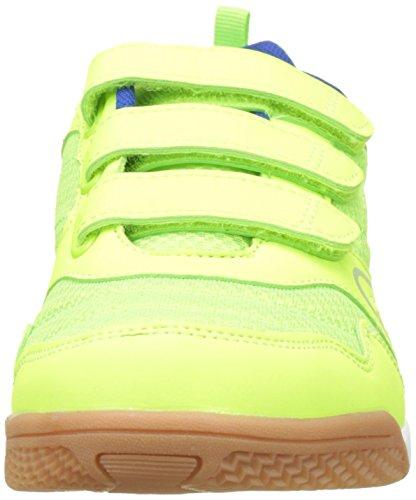 Lico Unisex-Erwachsene Boulder V Multisport Indoor Schuhe Gelb (Lemon/Blau)