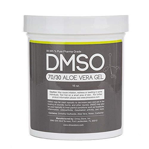 70/30 Pharma Grade DMSO Gel w/Aloe Vera Super Biologic- 1 Pound (16 oz)