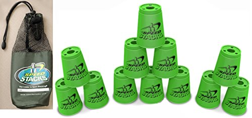Speed Stacks Set of 12 Neon Green Cups
