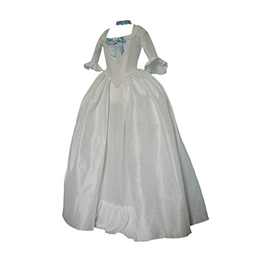 DUNHAO COS Women's 18th Century Marie-Antoinette Cosplay Costume Dress Victorian Skirt XXXL ()