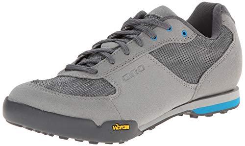 Giro Damen Petra VR Touring Schuhe, Titanium/Blue Jewel