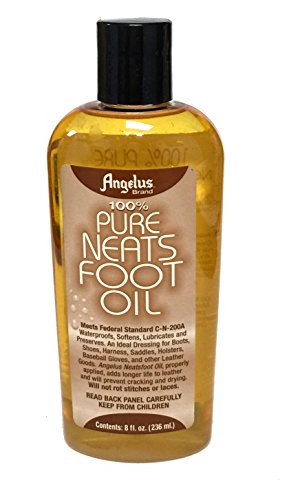 Angelus 100% Pure Neatsfoot Oil - 8 oz