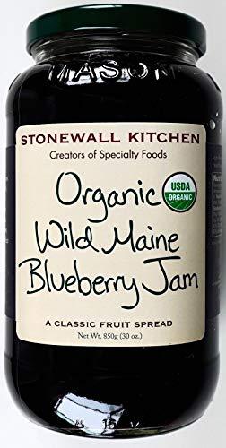 Stonewall Kitchen Organic Wild Maine Blueberry Fruit Spread, 30 Ounce