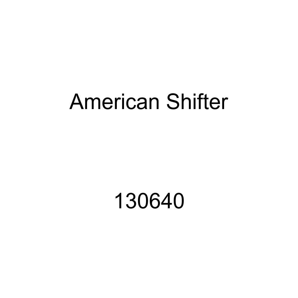 American Shifter 130640 Stripe Shift Knob with M16 x 1.5 Insert Orange Knight Horse