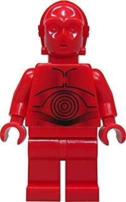 LEGO® Star Wars R3PO figure - Red C3PO - from 7879