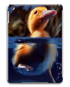 iPad Air Case,Duckling 2 Animal PC Hard Plastic Case for iPad Air