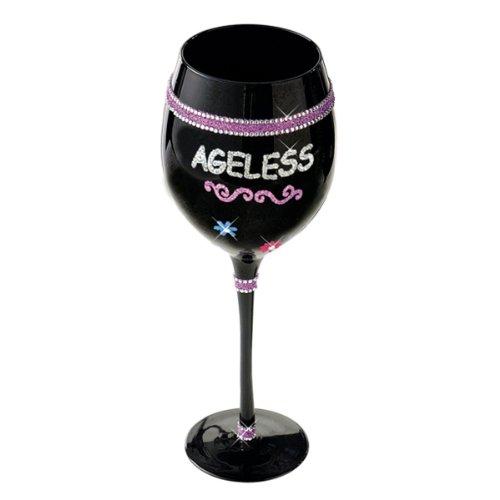 Grasslands Road Birthday Wine Glass - Ageless
