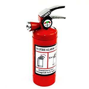 Cute Fire Extinguisher Lighter With LED Light