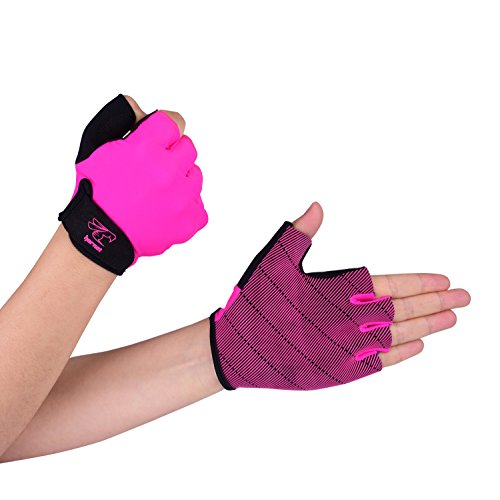 Pink Rowing Gloves for Women by Hornet Watersports - Ideal for Indoor Rowing, Sculling, Kayak, SUP, Outrigger Canoe, Dragon Boat and other Watersports