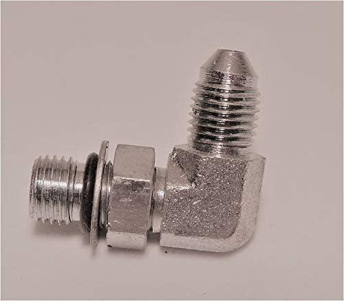 OR BOSS Male 7//16-20 X 7//16-20 Continental Hydraulic Adapter Fitting JIC 37 Male