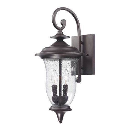 Cornerstone Lighting 8002EW/75 Trinity Coach Lantern, Oil Rubbed Bronze