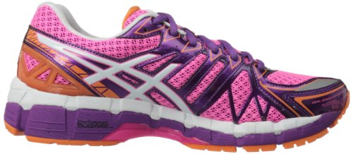 ASICS Women's GEL-Kayano 20 Running Shoe Pink/White/Purple supply cheap online sale big discount DiQBBn