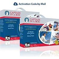 Bundle A: (2) OUPV/Six-pack Captain's Licenses (12 Month Subscription + Bonus Pack)