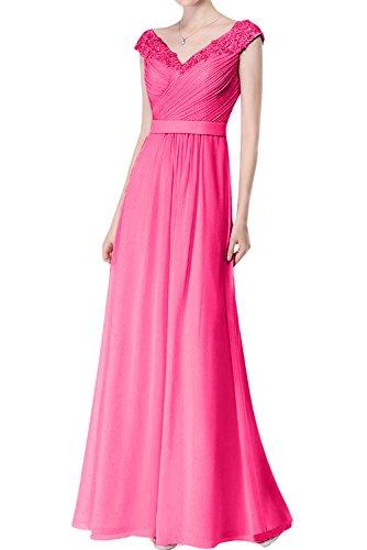 mes Vestido 2 trapecio mujer para Topkleider rosa UfWBq88c