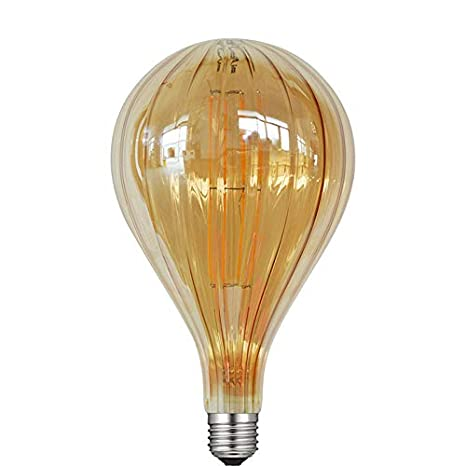 Bombillas LED Bombillas Retro Bombilla LED Cristal Retro Bombilla Filamento Lámpara C35E14 Cable de tungsteno, Sharp Bubble, 6W 2700K warm white: Amazon.es: ...