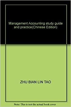 Book Management Accounting study guide and practice