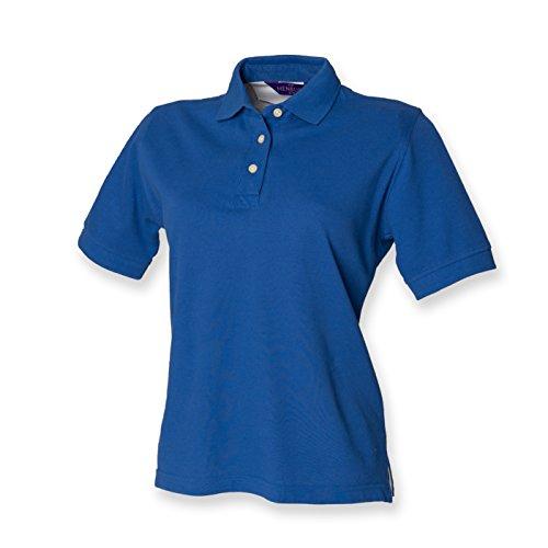 Henbury - Polo -  - Polo - Col polo - Manches courtes Femme -  Bleu - Bleu marine - 44