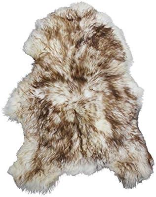 Tapis en peau de mouton crème double-soft /& fluffy-épais /& Shaggy-real sheepskin